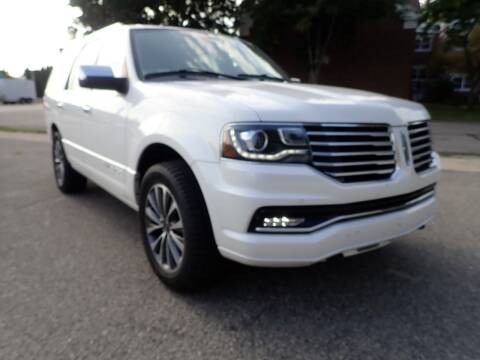 2016 Lincoln Navigator for sale at Marvel Automotive Inc. in Big Rapids MI