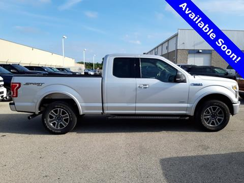 Trucks For Sale In Wi >> 2017 Ford F 150 For Sale In Fond Du Lac Wi