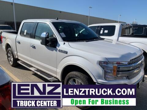 2019 Ford F-150 Lariat for sale at LENZ TRUCK CENTER in Fond Du Lac WI