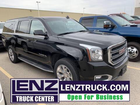 2019 GMC Yukon XL SLT 1500 for sale at LENZ TRUCK CENTER in Fond Du Lac WI