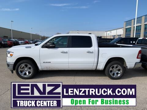2020 RAM Ram Pickup 1500 Big Horn for sale at LENZ TRUCK CENTER in Fond Du Lac WI