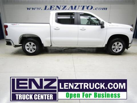2020 Chevrolet Silverado 1500 for sale at LENZ TRUCK CENTER in Fond Du Lac WI