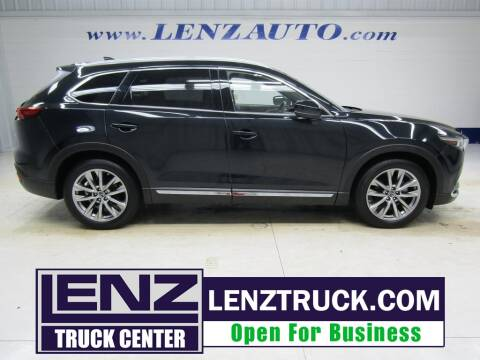 2019 Mazda CX-9 for sale at LENZ TRUCK CENTER in Fond Du Lac WI