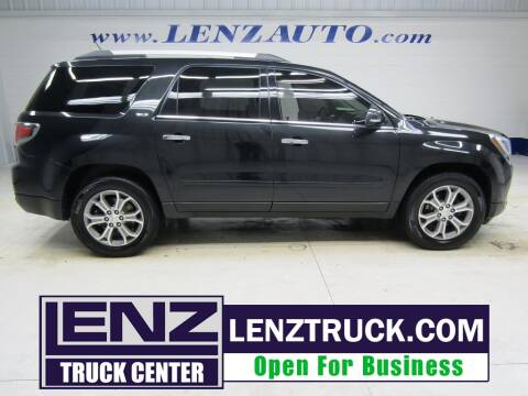 2014 GMC Acadia for sale at LENZ TRUCK CENTER in Fond Du Lac WI