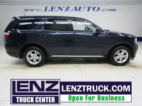 2011 Dodge Durango for sale at LENZ TRUCK CENTER in Fond Du Lac WI