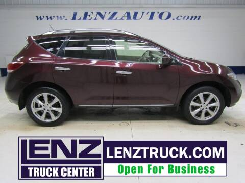 2014 Nissan Murano for sale at LENZ TRUCK CENTER in Fond Du Lac WI
