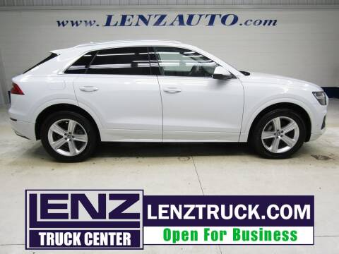 2019 Audi Q8 for sale at LENZ TRUCK CENTER in Fond Du Lac WI