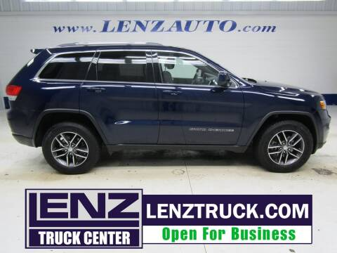 2018 Jeep Grand Cherokee for sale at LENZ TRUCK CENTER in Fond Du Lac WI