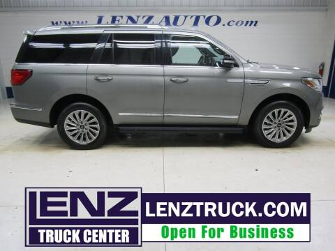 2019 Lincoln Navigator for sale at LENZ TRUCK CENTER in Fond Du Lac WI