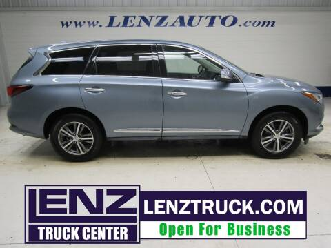 2019 Infiniti QX60 for sale at LENZ TRUCK CENTER in Fond Du Lac WI