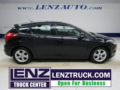 2013 Ford Focus for sale at LENZ TRUCK CENTER in Fond Du Lac WI