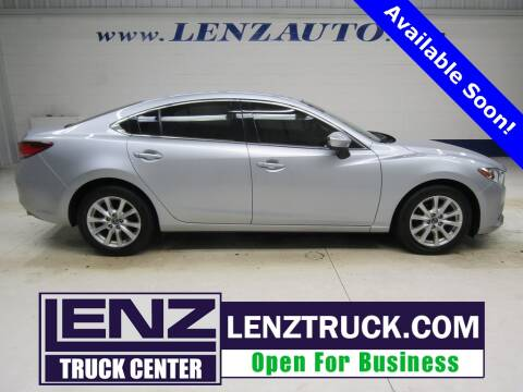 2016 Mazda MAZDA6 for sale at LENZ TRUCK CENTER in Fond Du Lac WI