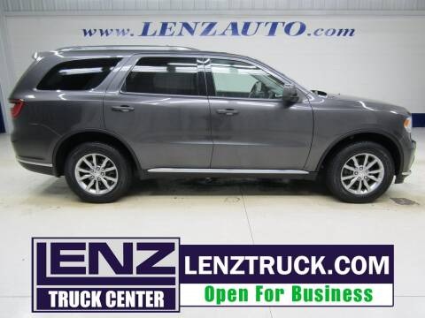 2017 Dodge Durango for sale at LENZ TRUCK CENTER in Fond Du Lac WI