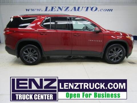 2018 Chevrolet Traverse for sale at LENZ TRUCK CENTER in Fond Du Lac WI