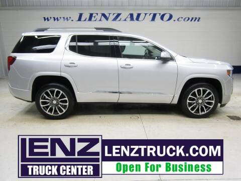 2020 GMC Acadia for sale at LENZ TRUCK CENTER in Fond Du Lac WI