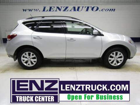 2011 Nissan Murano for sale at LENZ TRUCK CENTER in Fond Du Lac WI