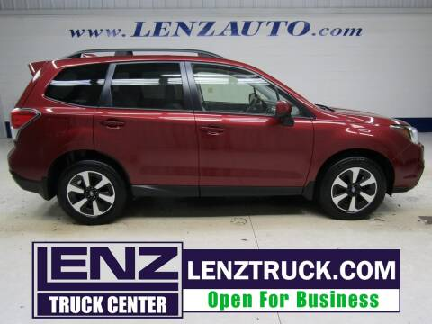 2017 Subaru Forester for sale at LENZ TRUCK CENTER in Fond Du Lac WI