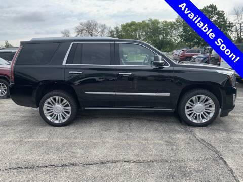 2016 Cadillac Escalade for sale at LENZ TRUCK CENTER in Fond Du Lac WI
