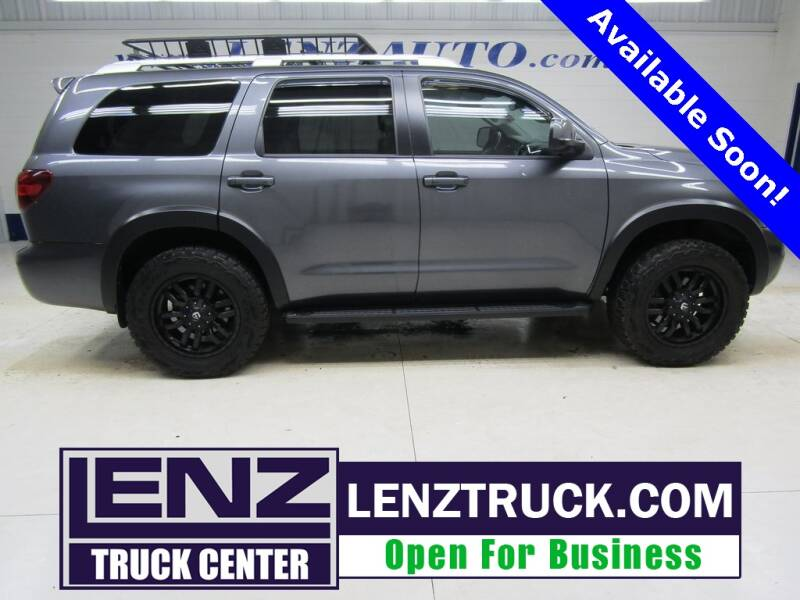 2018 Toyota Sequoia for sale at LENZ TRUCK CENTER in Fond Du Lac WI
