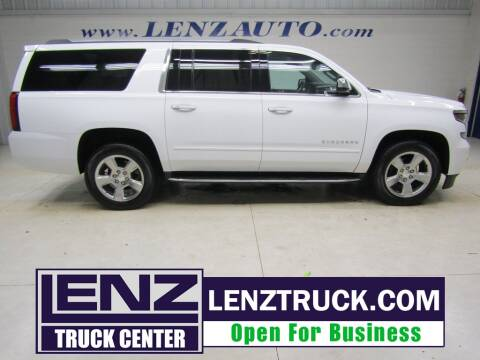 2020 Chevrolet Suburban for sale at LENZ TRUCK CENTER in Fond Du Lac WI