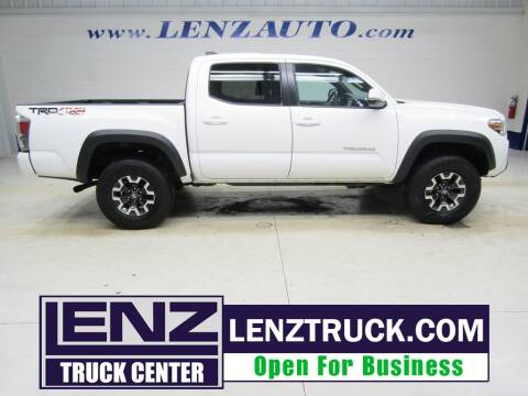 2020 Toyota Tacoma for sale at LENZ TRUCK CENTER in Fond Du Lac WI
