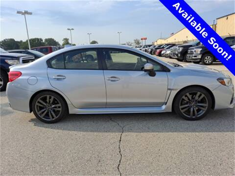 2017 Subaru WRX for sale at LENZ TRUCK CENTER in Fond Du Lac WI