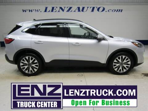 2020 Ford Escape for sale at LENZ TRUCK CENTER in Fond Du Lac WI