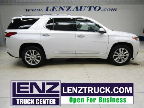 2019 Chevrolet Traverse for sale at LENZ TRUCK CENTER in Fond Du Lac WI