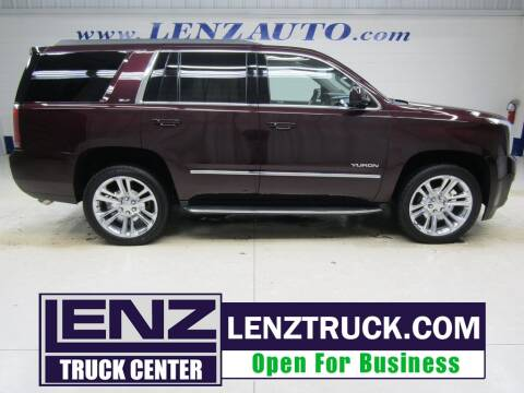 2017 GMC Yukon for sale at LENZ TRUCK CENTER in Fond Du Lac WI