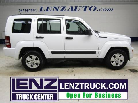 2011 Jeep Liberty for sale at LENZ TRUCK CENTER in Fond Du Lac WI