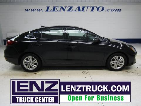 2019 Hyundai Elantra for sale at LENZ TRUCK CENTER in Fond Du Lac WI