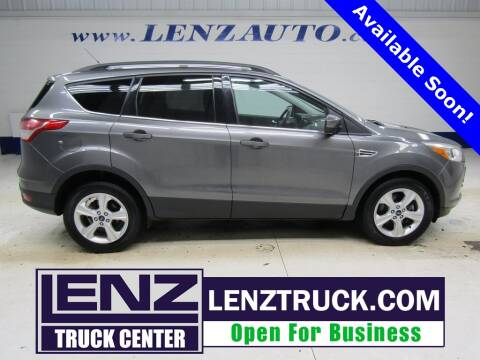 2014 Ford Escape for sale at LENZ TRUCK CENTER in Fond Du Lac WI
