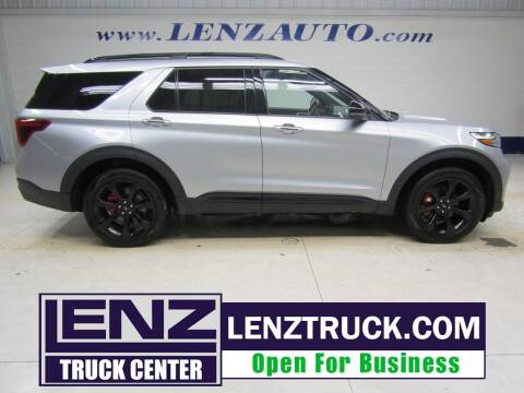 2020 Ford Explorer for sale at LENZ TRUCK CENTER in Fond Du Lac WI