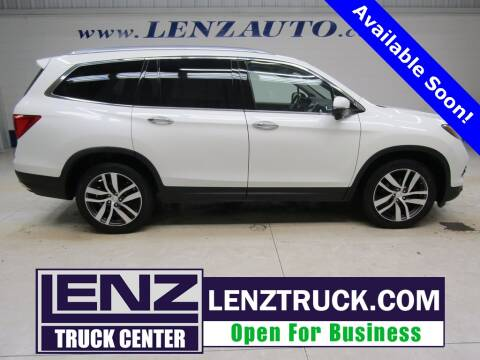 2016 Honda Pilot for sale at LENZ TRUCK CENTER in Fond Du Lac WI