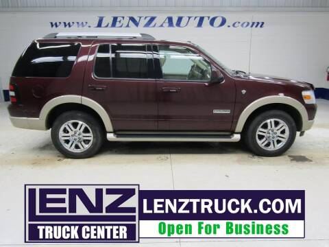 2007 Ford Explorer for sale at LENZ TRUCK CENTER in Fond Du Lac WI