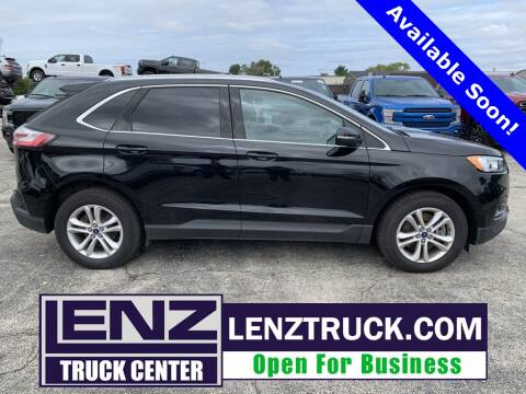 2019 Ford Edge for sale at LENZ TRUCK CENTER in Fond Du Lac WI