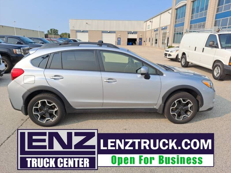 2014 Subaru XV Crosstrek for sale at LENZ TRUCK CENTER in Fond Du Lac WI
