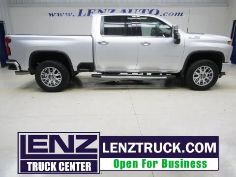 2020 Chevrolet Silverado 3500HD for sale at LENZ TRUCK CENTER in Fond Du Lac WI