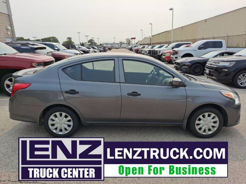 2017 Nissan Versa for sale at LENZ TRUCK CENTER in Fond Du Lac WI
