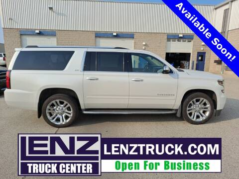 2016 Chevrolet Suburban for sale at LENZ TRUCK CENTER in Fond Du Lac WI