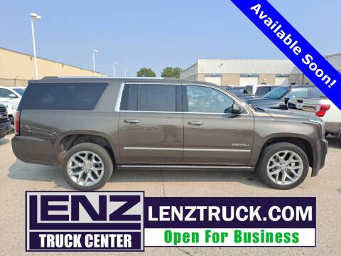 2019 GMC Yukon XL for sale at LENZ TRUCK CENTER in Fond Du Lac WI