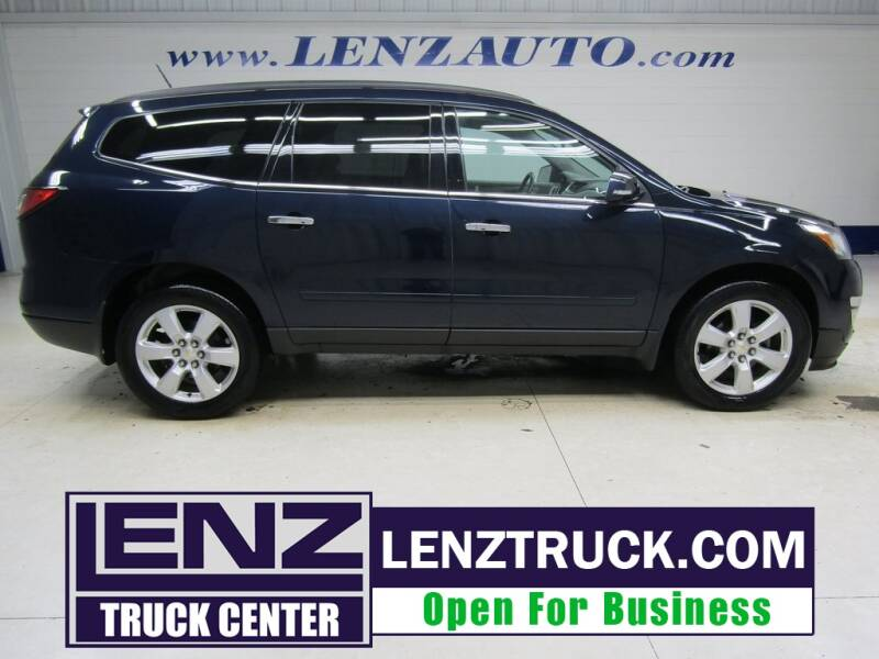 2017 Chevrolet Traverse for sale at LENZ TRUCK CENTER in Fond Du Lac WI