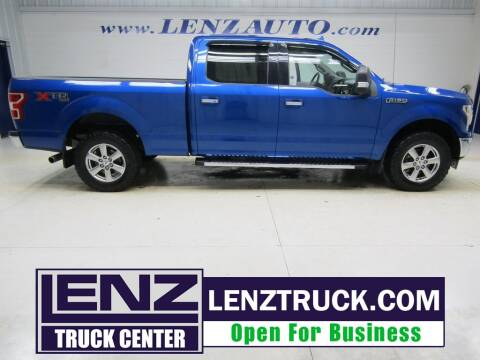 2018 Ford F-150 for sale at LENZ TRUCK CENTER in Fond Du Lac WI