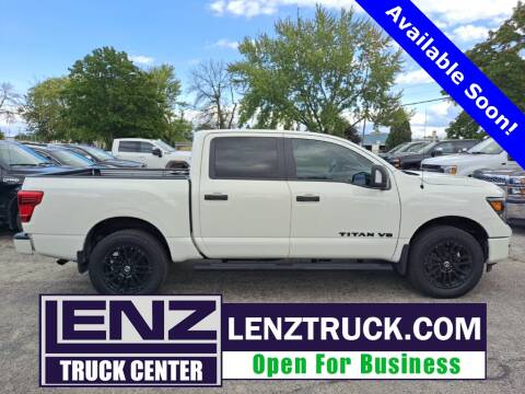 2019 Nissan Titan for sale at LENZ TRUCK CENTER in Fond Du Lac WI