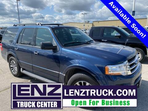 2016 Ford Expedition for sale at LENZ TRUCK CENTER in Fond Du Lac WI