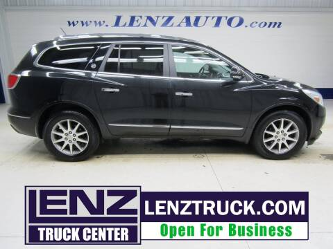 2013 Buick Enclave for sale at LENZ TRUCK CENTER in Fond Du Lac WI