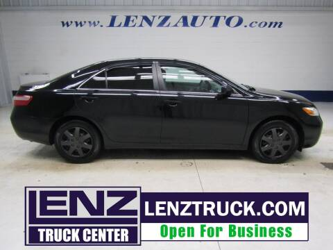 2007 Toyota Camry for sale at LENZ TRUCK CENTER in Fond Du Lac WI