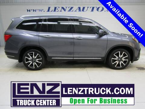 2020 Honda Pilot for sale at LENZ TRUCK CENTER in Fond Du Lac WI