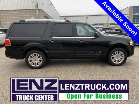 2012 Lincoln Navigator L for sale at LENZ TRUCK CENTER in Fond Du Lac WI