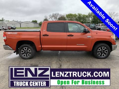 2017 Toyota Tundra for sale at LENZ TRUCK CENTER in Fond Du Lac WI